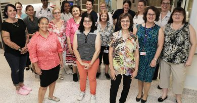 New dedicated volunteers for our supportive and palliative care patients