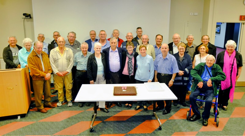 Members of the Westmead Prostate Cancer Support Group celebrate 20 years.
