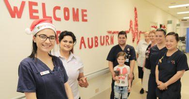 Auburn Hospital; Christmas