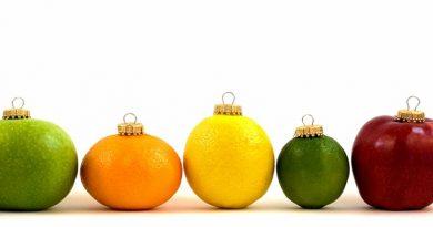 Fruit baubles