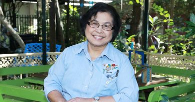 Nursing unit manager Mildred Villaison